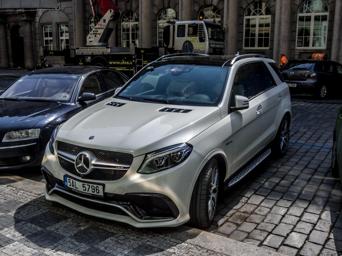Mercedes-Benz GLE am 21.04.2017.