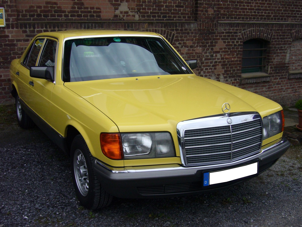 Mercedes benz w126 1979 1991 diese baureihe war mit 6 for Mercedes benz account