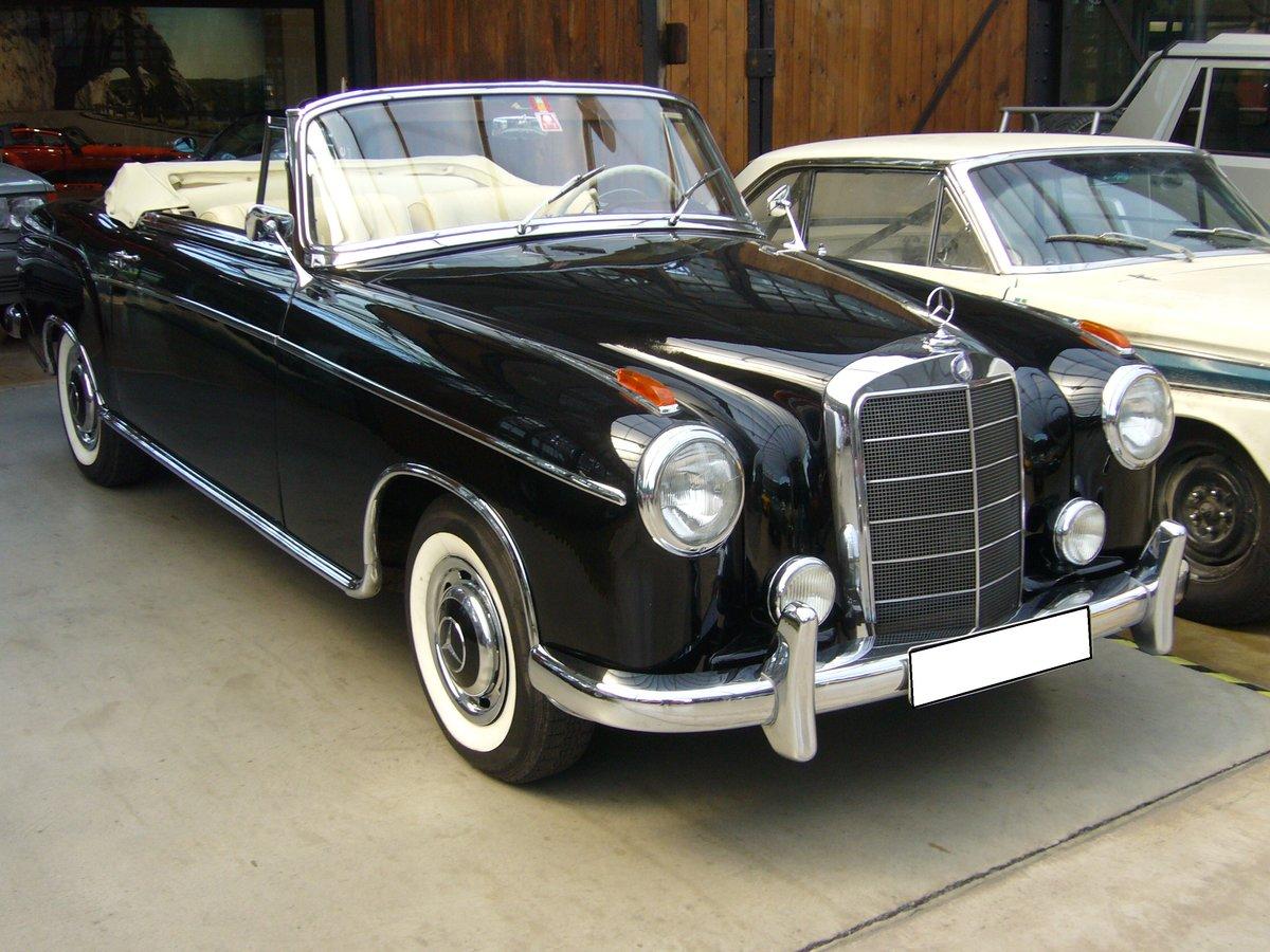 Mercedes benz w 120 w 121 w 105 w 180 ponton fotos for Mercedes benz name
