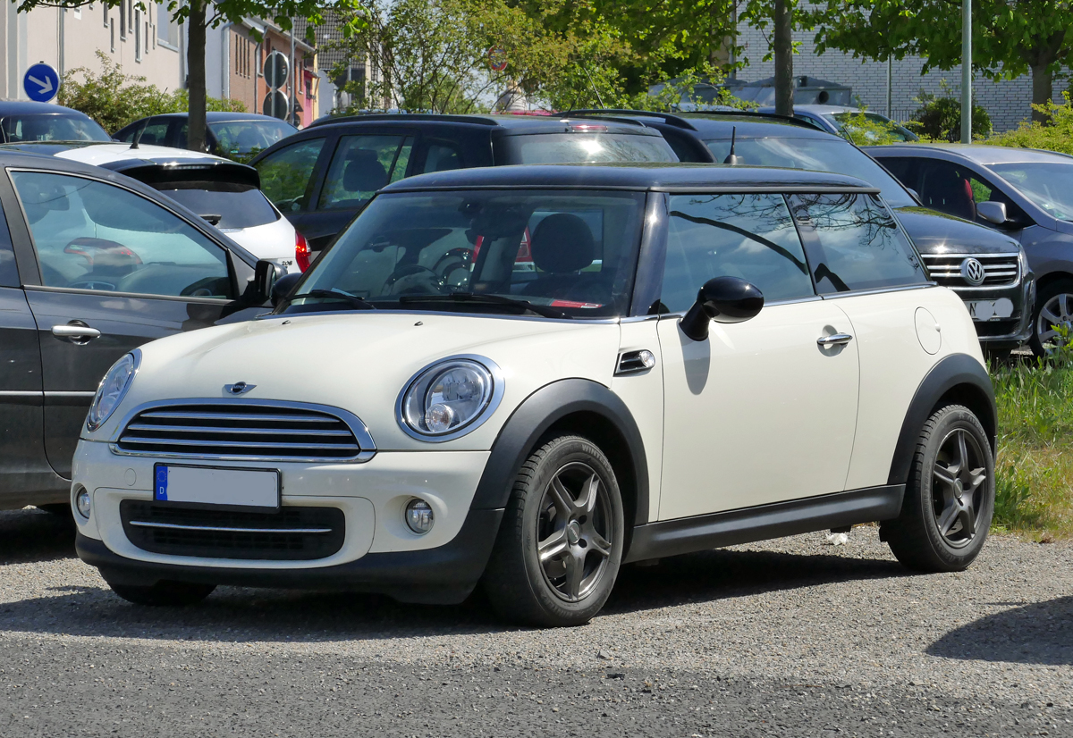 Mini  black and white  in Euskirchen - 24.04.2017