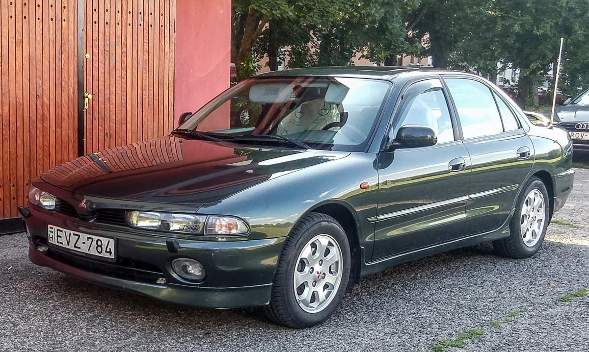 Mitsubishi Galant, fotografiert in August, 2019 (Pécs - Ungarn).