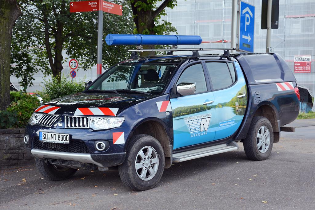 Mitsubishi L 200 in Bonn - 07.08.2014 - Fahrzeugbilder.de