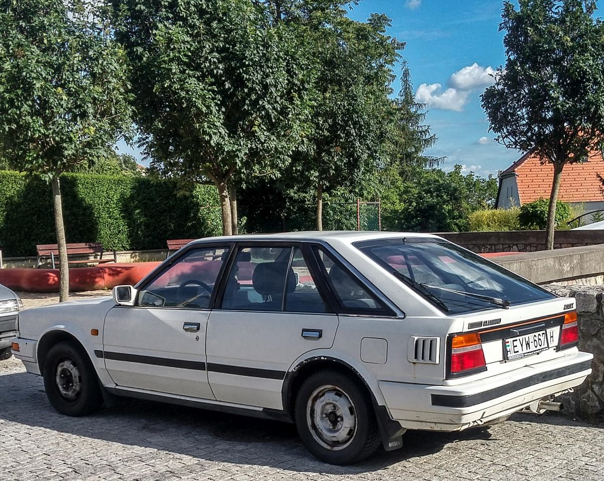 Nissan Bluebird T12 Hatchback in Juni 2020.