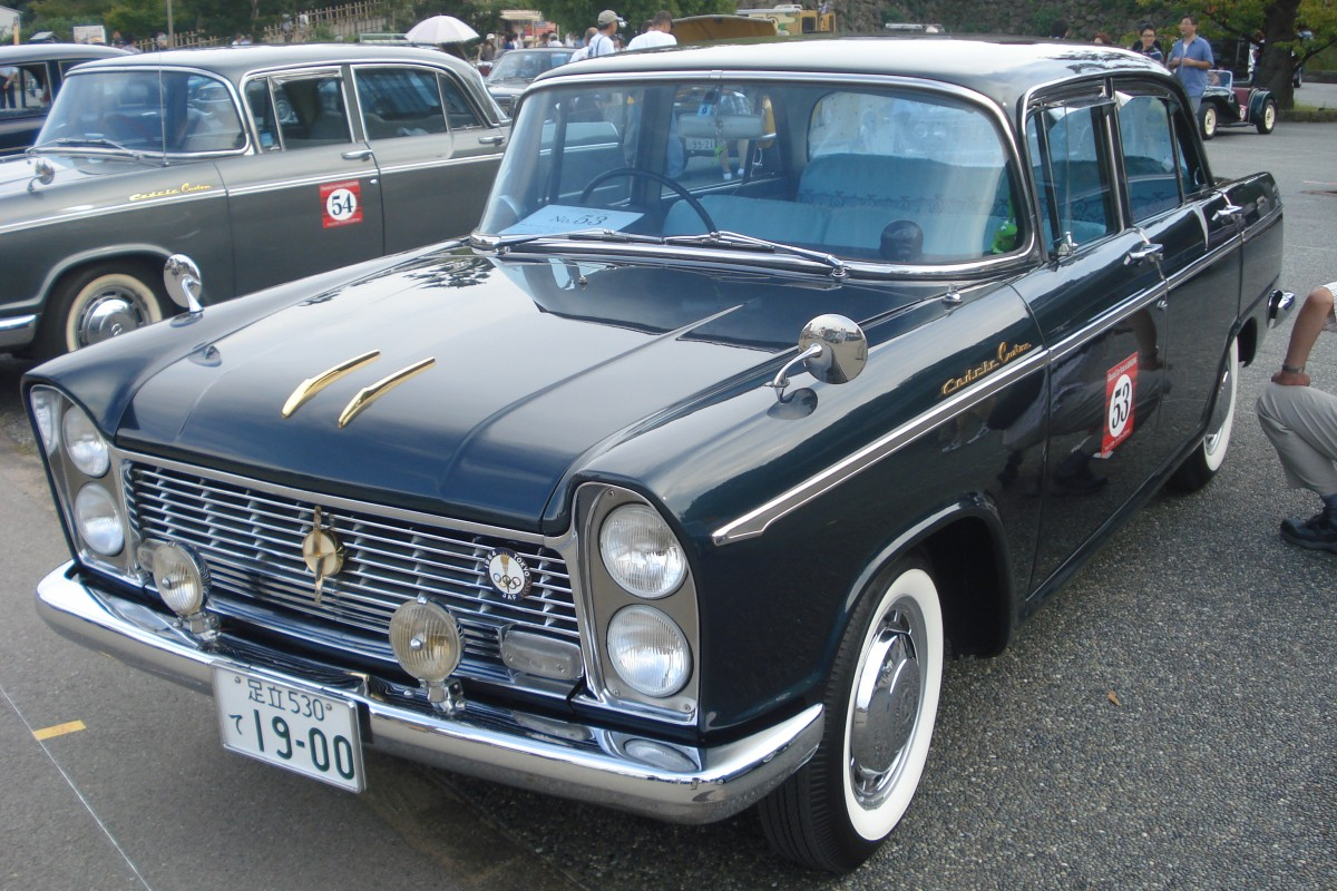 Nissan Cedric Custom in Kanazawa, Japan (September 2013)