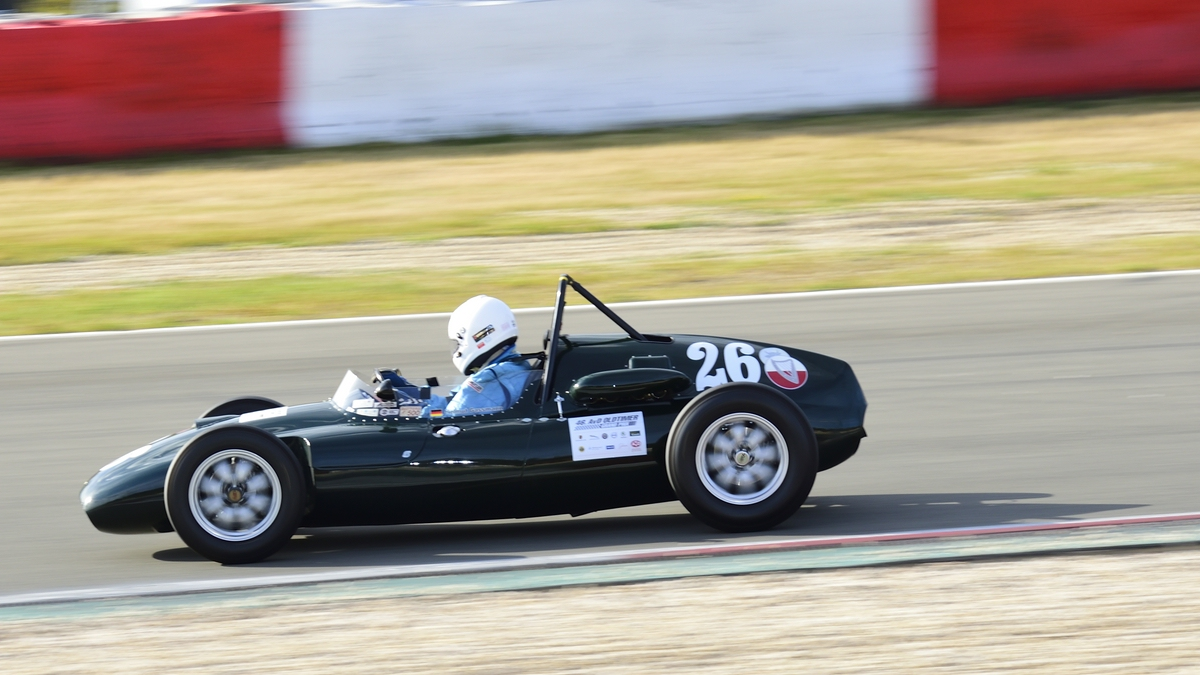 Nr.26 Connaught B4, Gassmann Helmut,  46. AvD-Oldtimer-Grand-Prix 2018, Rennen 6 Historic Grand Prix Cars bis 1965 am 11.Aug.2018