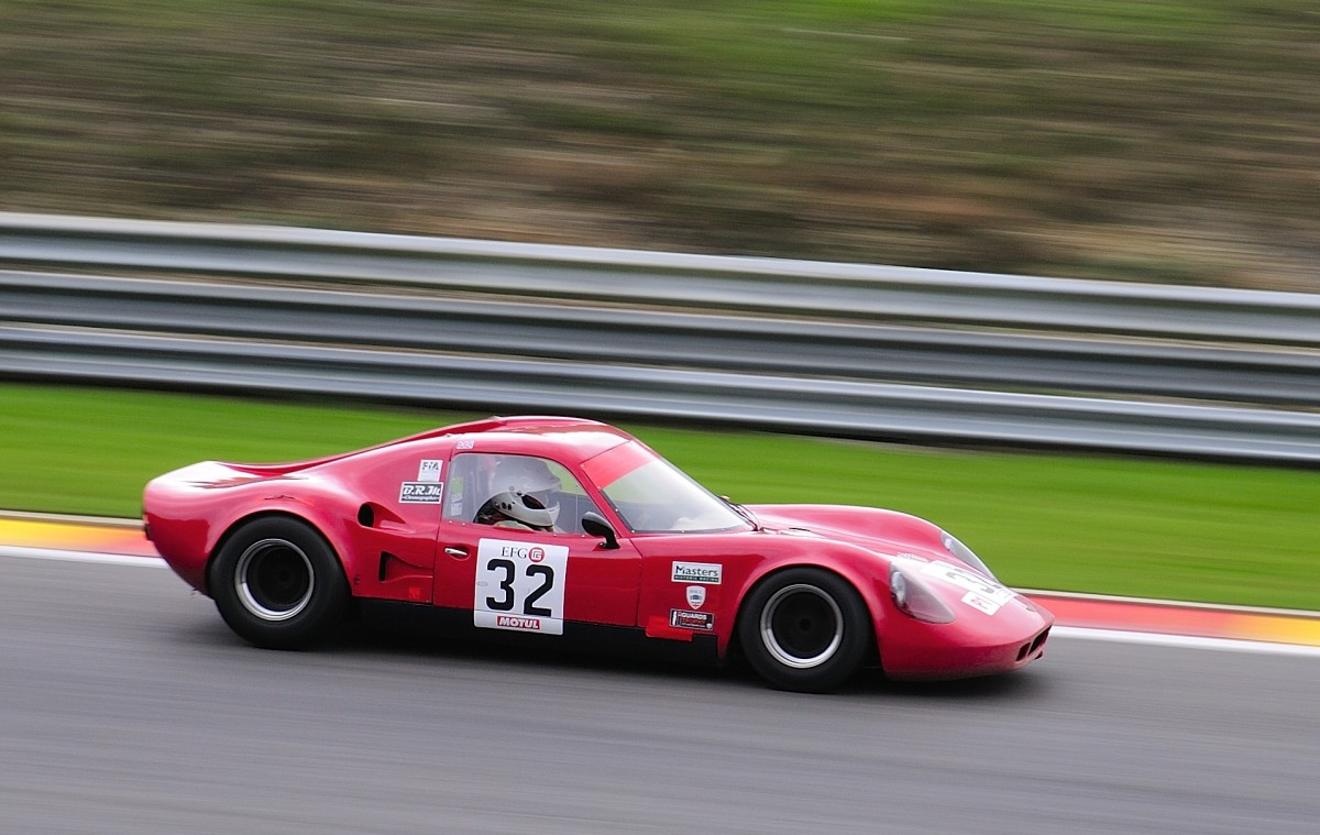 Nr.32 CHEVRON B8, Bj:1968, 1998ccm Fahrer:ALLISON Charles (GBR),beim Closed Wheel Race, des Historic Sports Car Club im Rahmen der Classic SPA SIX HOURS 19.September 2015