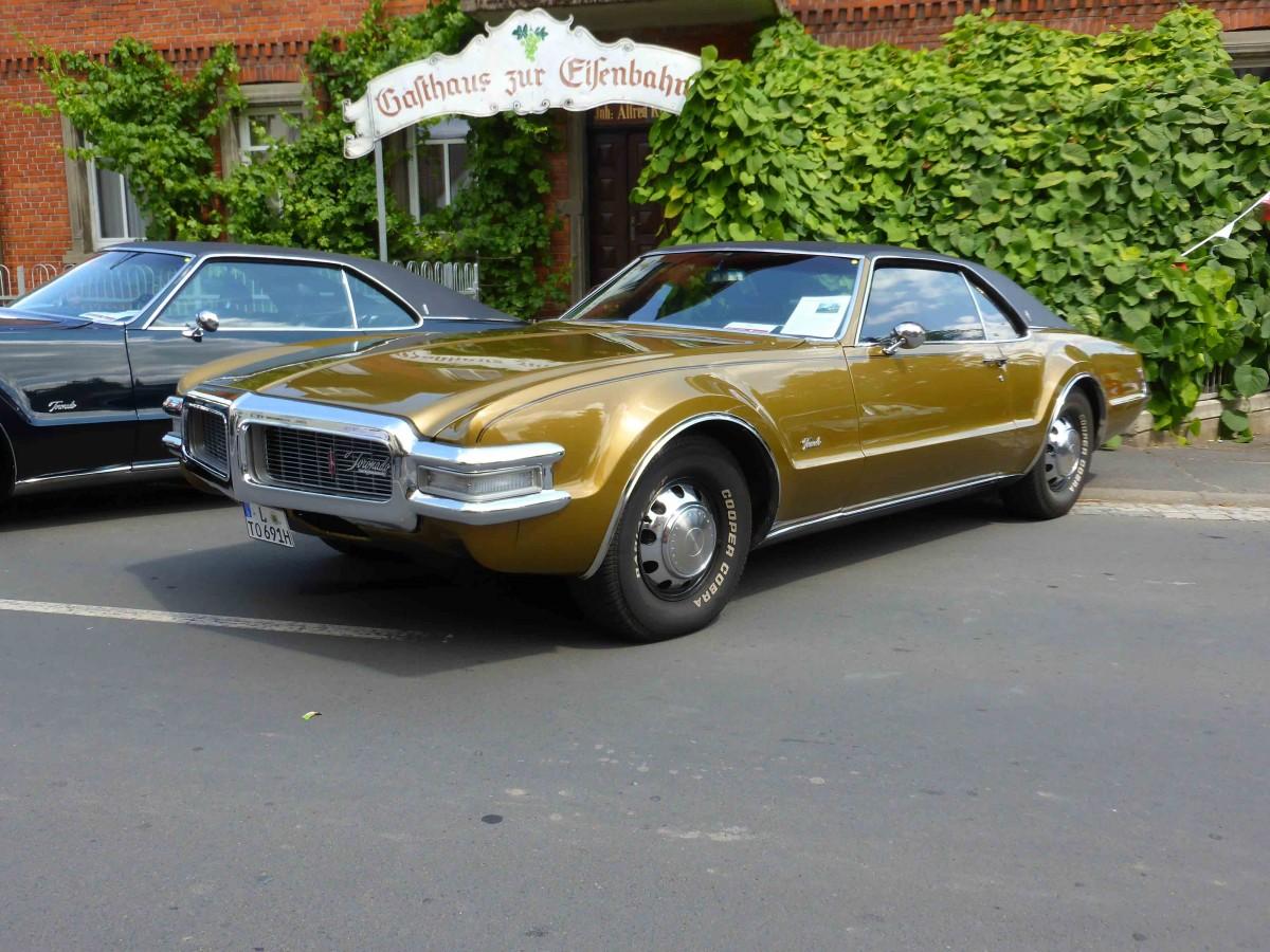 Oldsmobile Toronado Bj 1969 Steht Bei Den Fladungen