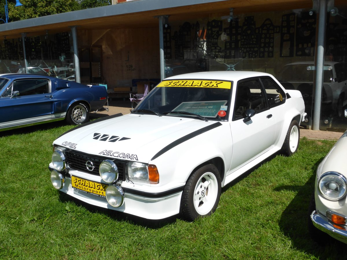 Opel Ascona 400, Vintage Cars & Bikes in Steinfort am 06.08.2016