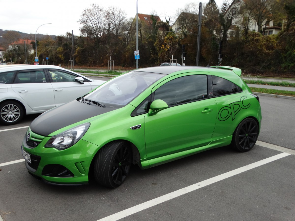opel corsa opc n rburgring edition am in weinheim. Black Bedroom Furniture Sets. Home Design Ideas