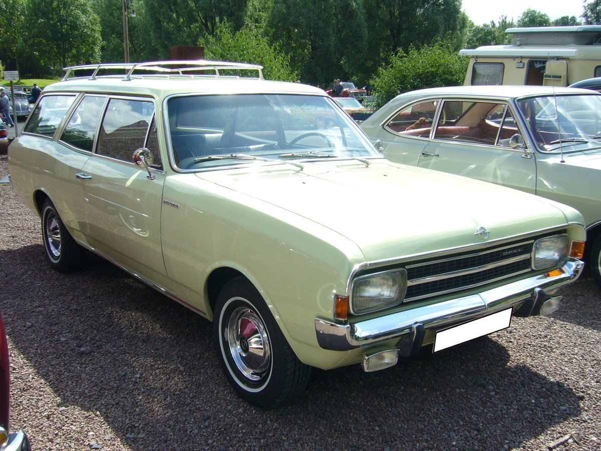 Opel Rekord C CarAvan 1966  1971 Der Millionenseller