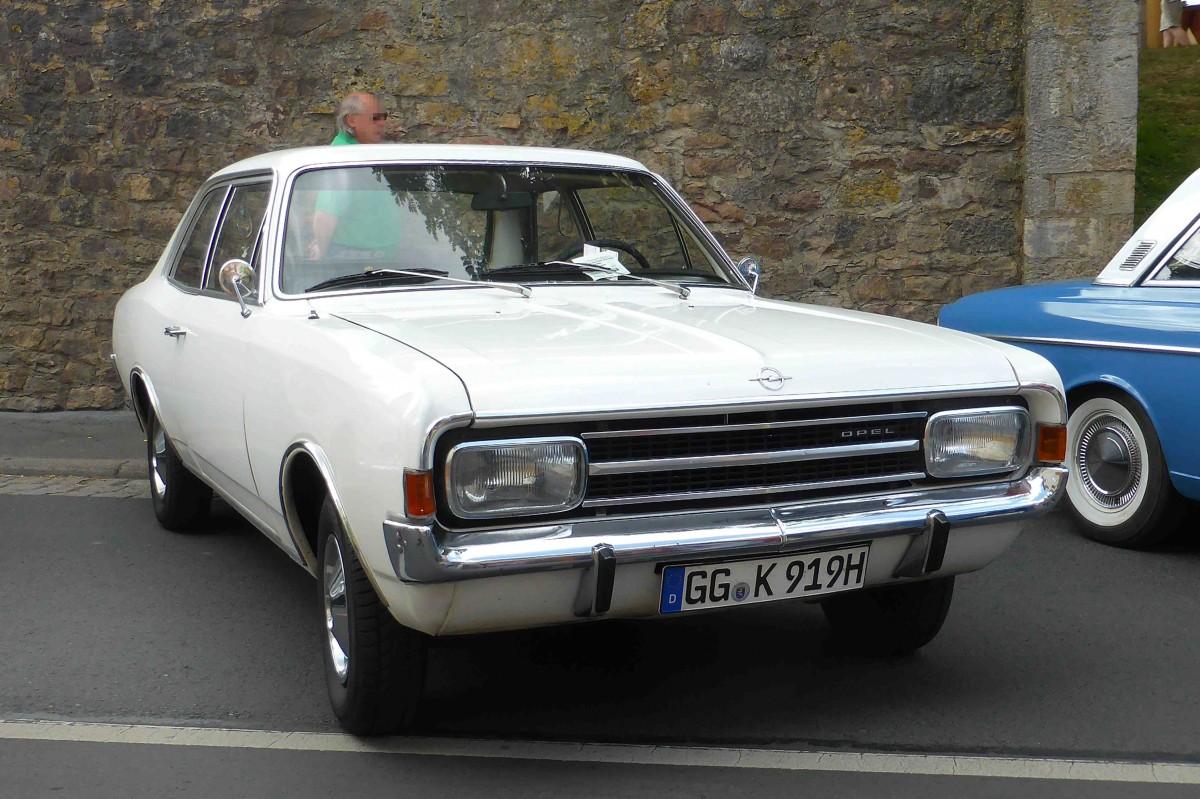 Rekord (ab 1963), Commodore Fotos (2)  Fahrzeugbilderde