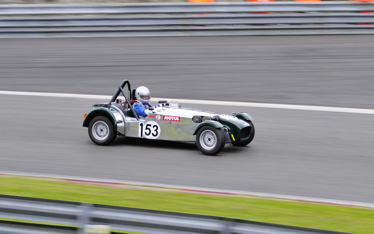 P.MACQUART-MOULIN auf CATERHAM, bei der Lotus Trophee am 15.6.2013 in Spa Francorchamps