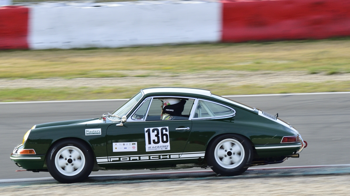 Porsche 911, ccm 2000, Bj. 1967, 46. AvD-Oldtimer-Grand-Prix 2018, Qualifying der Tourenwagen Classics am 11.Aug.2018