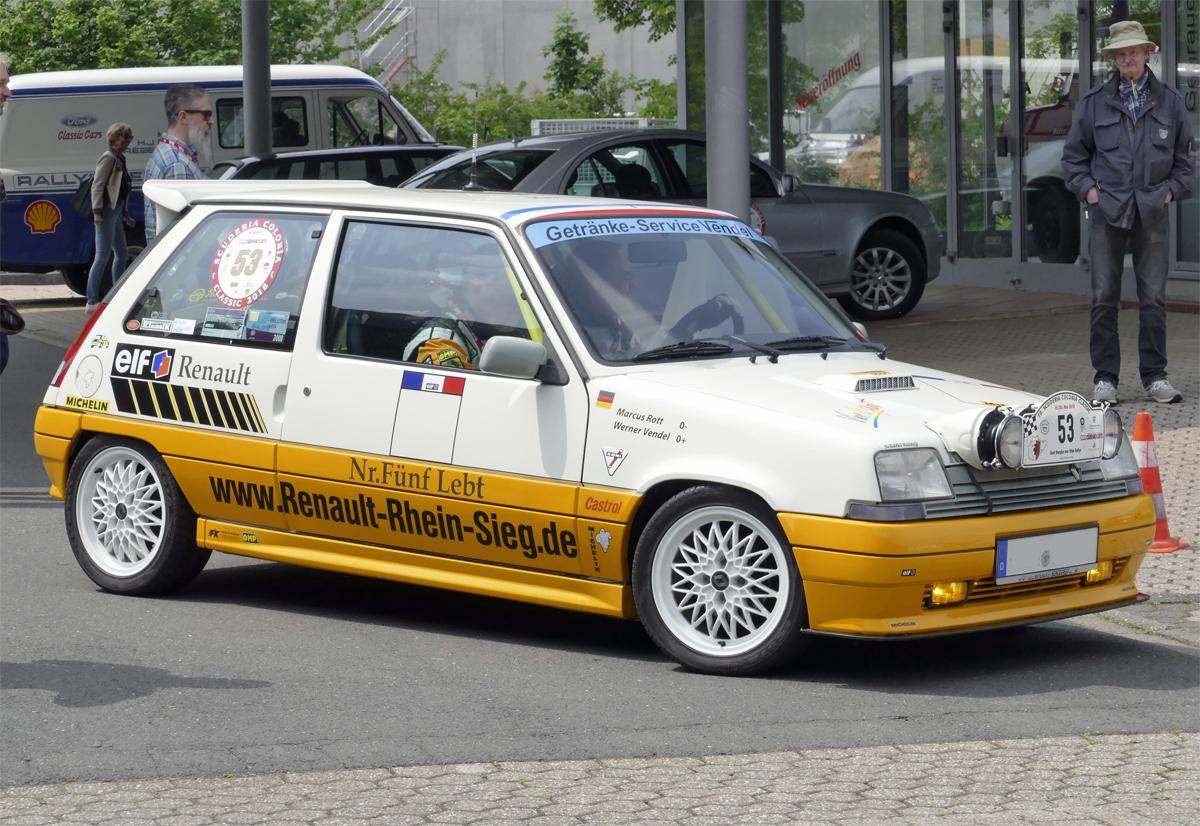 Renault R 5 Fotos - Fahrzeugbilder.de