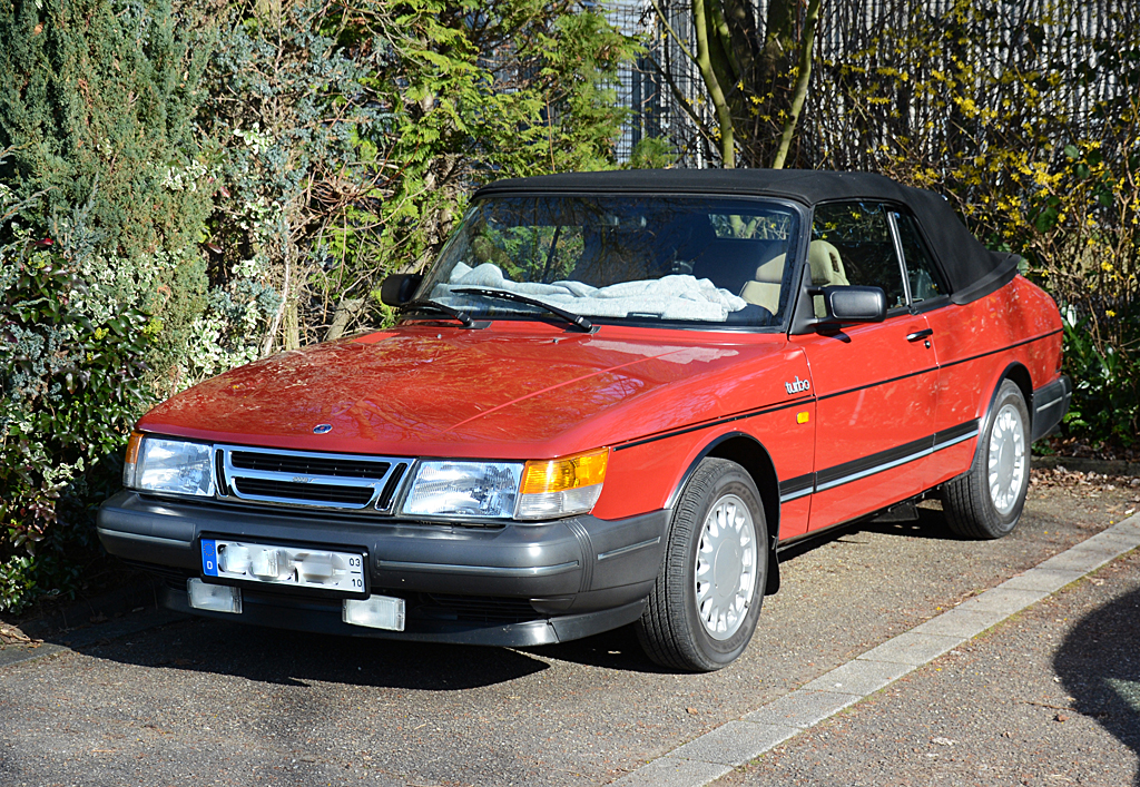 saab 900 turbo cabrio in hangelar. Black Bedroom Furniture Sets. Home Design Ideas