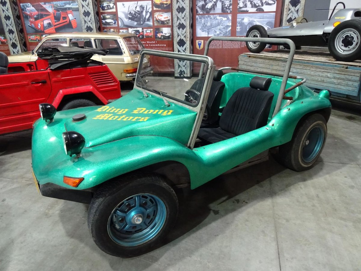 Schutz-VW Buggy beim Autojumble 2016 in Luxembourg