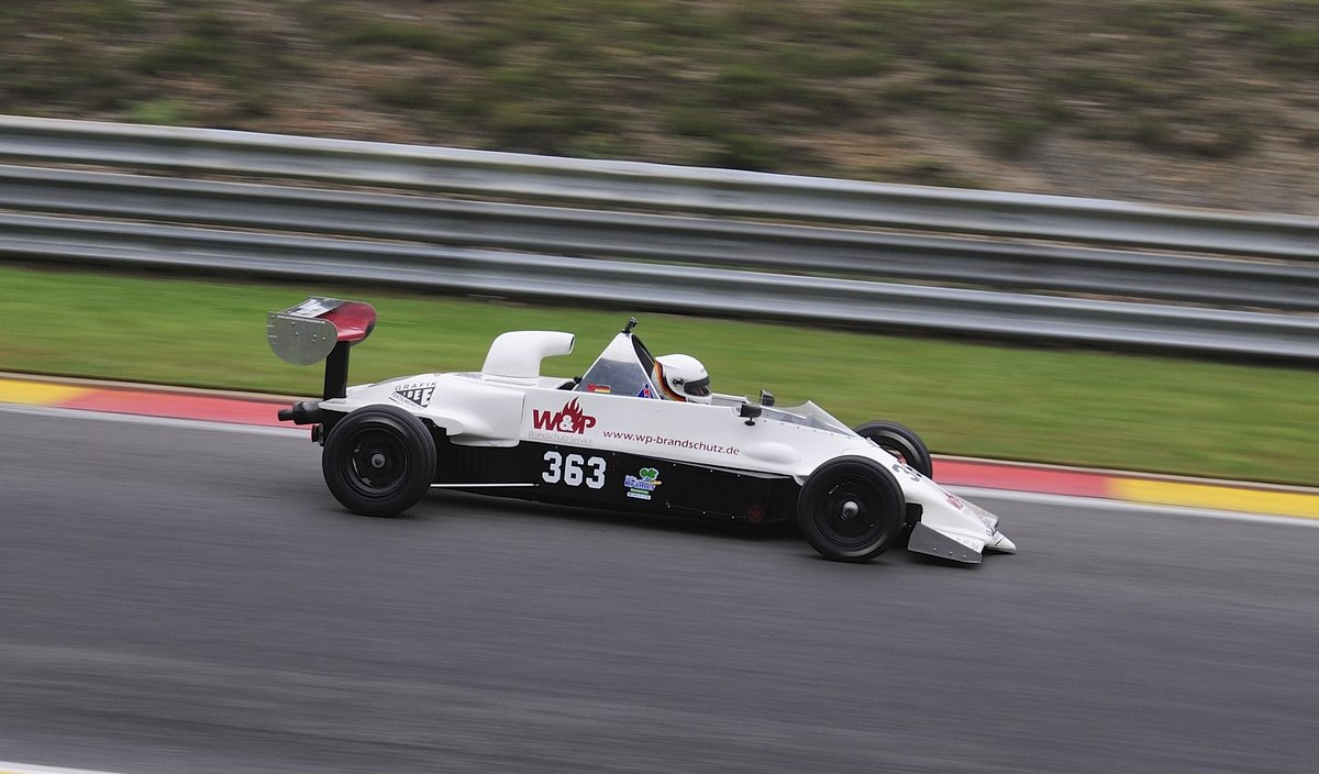 Stefan Krämer im Reynard SF84  Formel Ford 2000 (Ford OHC Motor), beim AvD Historic Race Cup, 2. Rennen am 24 July 2016 Spa Francorchamps. Youngtimer Festival Spa 2016
