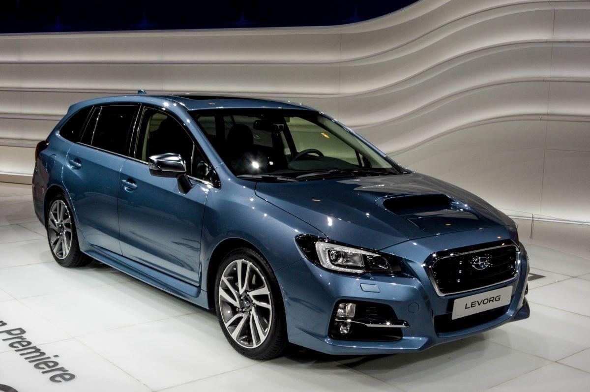 Subaru Levorg. Aufnahme: Autosalon Genf 2015 ...