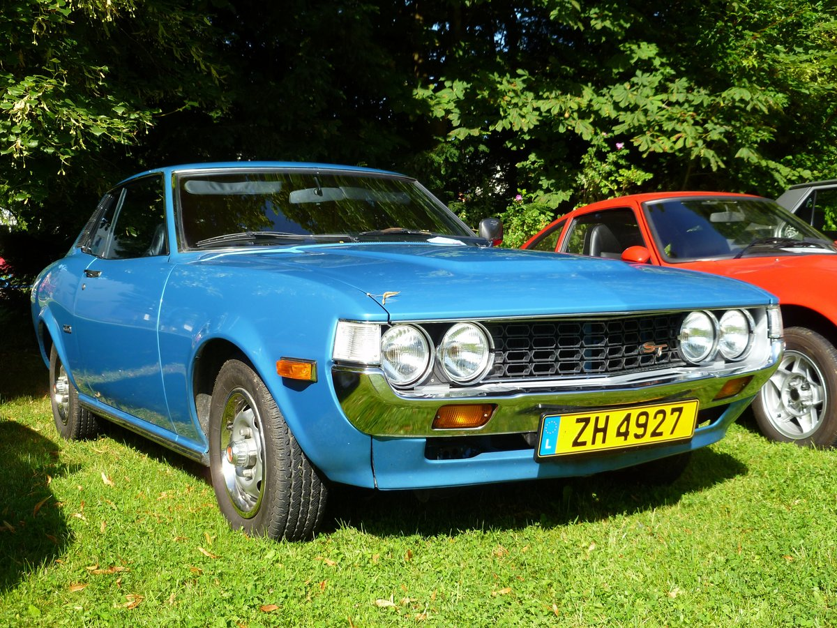 Toyota Celica ST, Vintage Cars & Bikes in Steinfort am 06.08.2016
