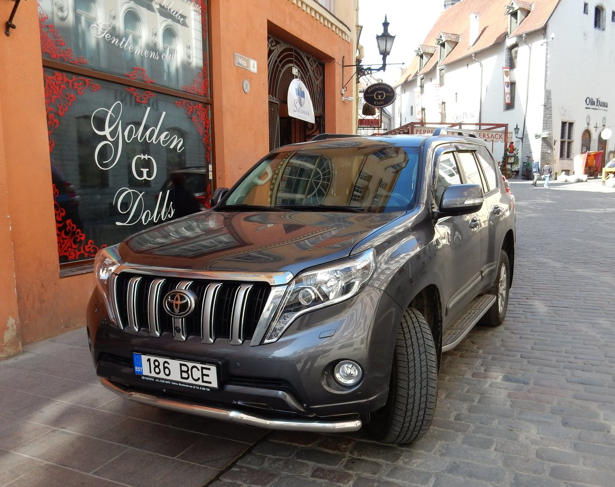 Toyota Landcruiser am 20.05.18 in Tallinn