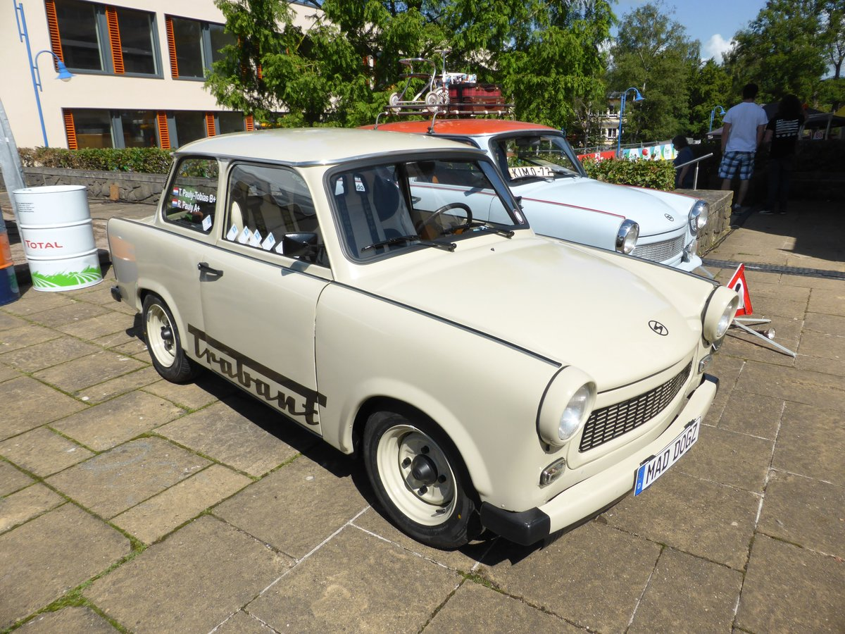 Trabant P 601, Vintage Cars & Bikes in Steinfort am 06.08.2016