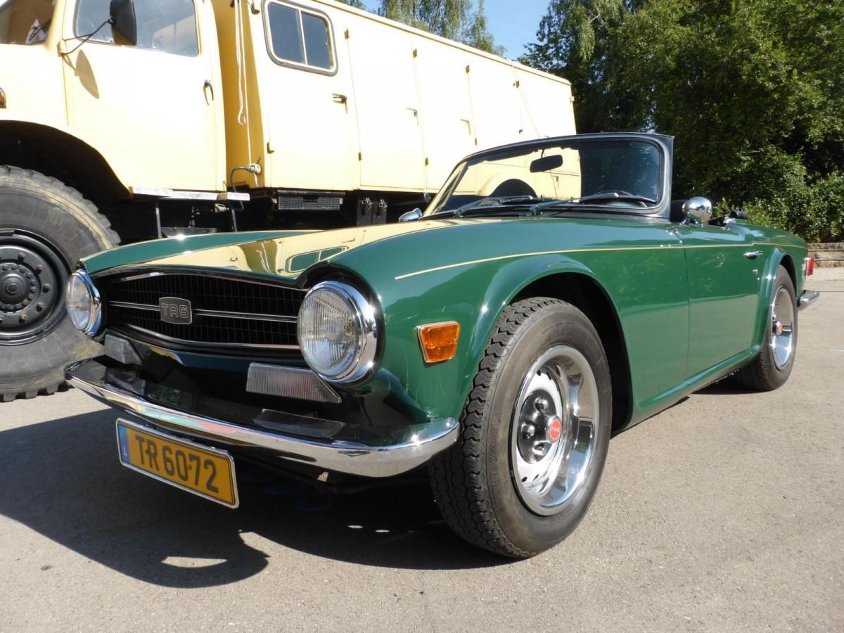 Vintage Triumph Car 9
