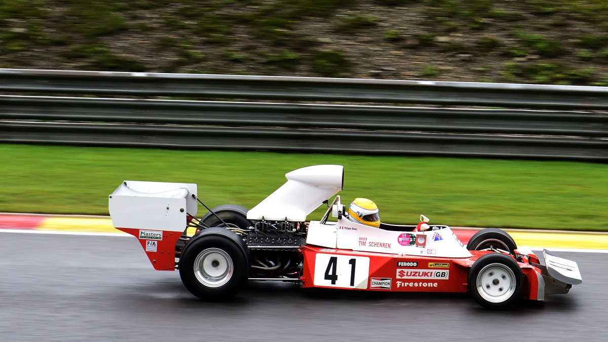 TROJAN T103-1,FIA Masters Historic Formula One Champions, bei den Spa Six Hours Classic vom 27 - 29 September 2019