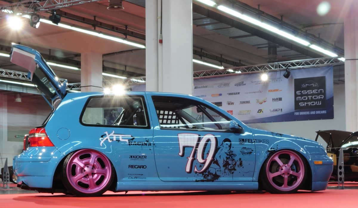 Tuning Cars  For Drivers and Dreams  VW Polo. Aufnahme am 6.12.2012 bei der Motorshow Essen