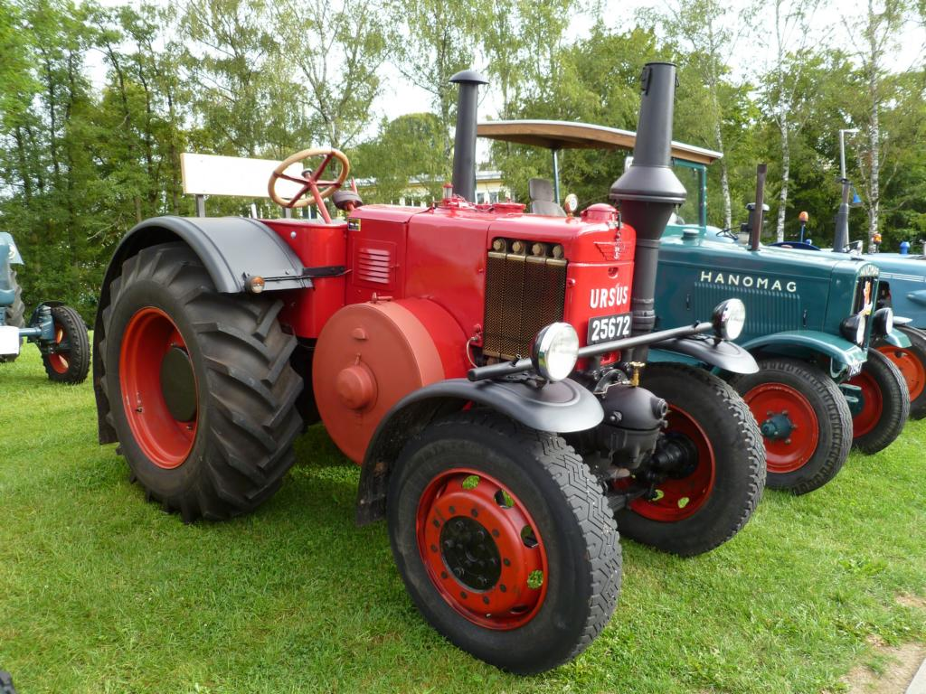 Ursus C-45, Vintage Cars & Bikes in Steinfort am 03.08.2014