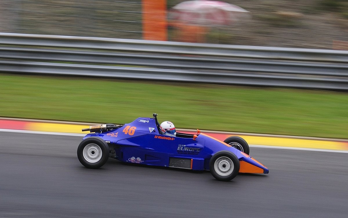 Van Diemen RF88 FF1600, AvD Historic Race Cup, 2. Rennen am 24 July 2016 Spa Francorchamps. Youngtimer Festival Spa 2016