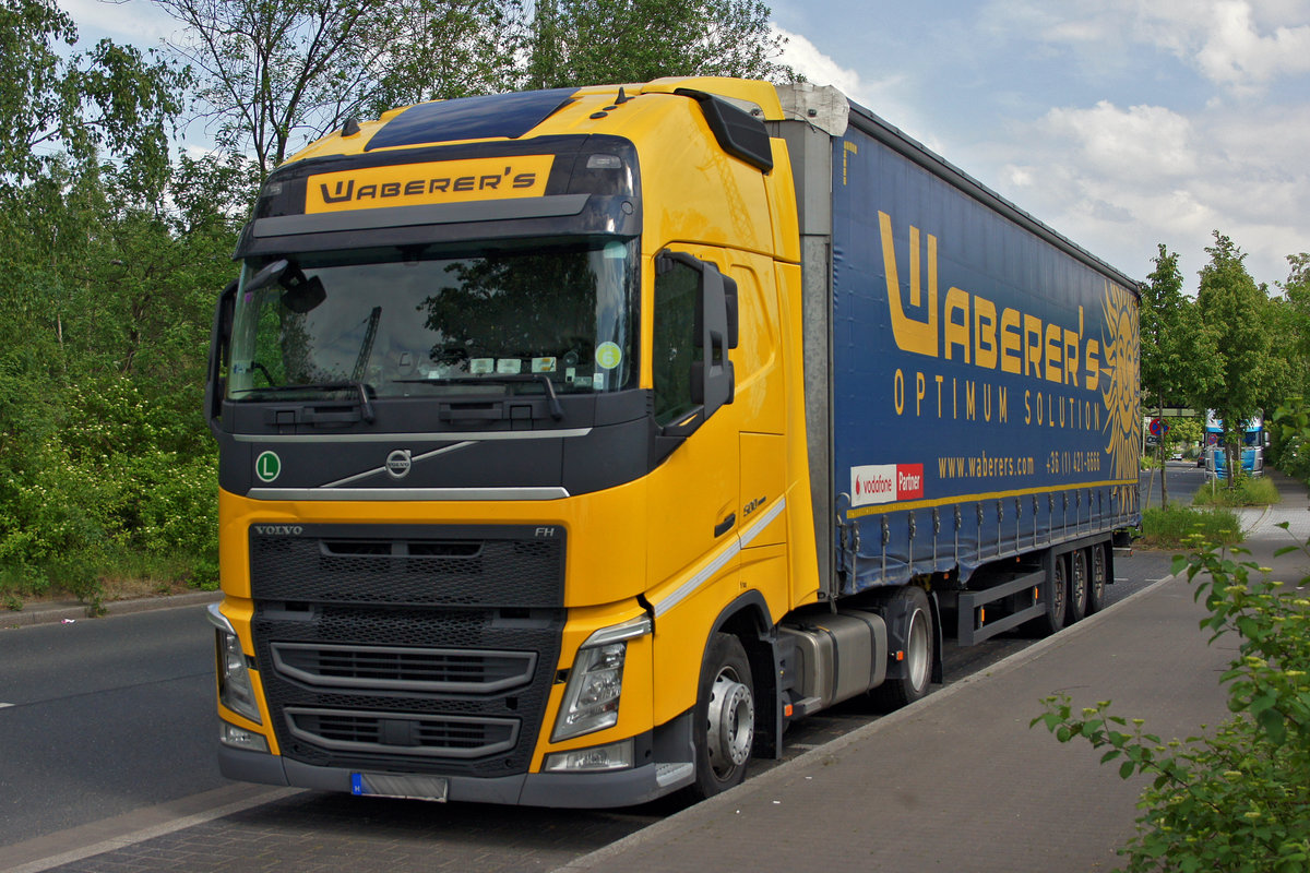 Volvo FH 500 am 09.05.2018 in Dortmund