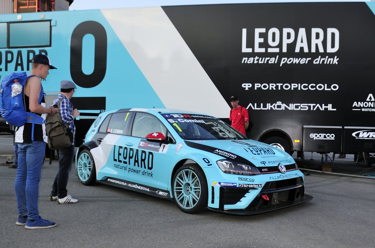 VW Golf GTI TCR, W Racing Team / Leopard Racing startet mit Autos bei der TCR International Series 2016. Hier in Spa Francorchamps am 7.Mai 2016