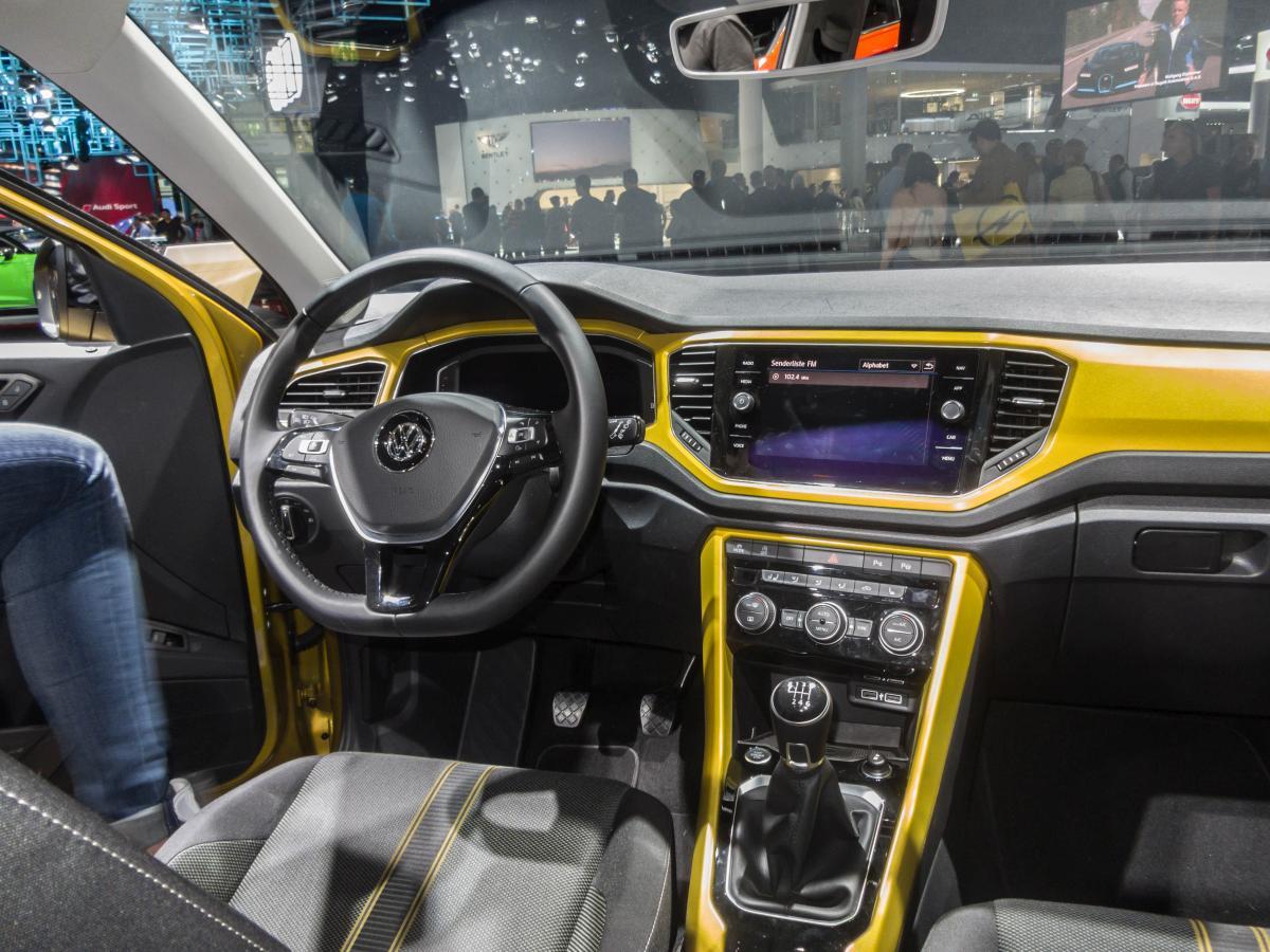 Volkswagen T-Roc Fotos - Fahrzeugbilder.de