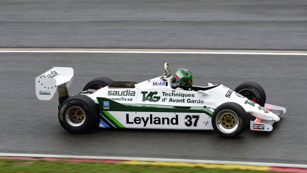 WILLIAMS FW07C,FIA Masters Historic Formula One Champions, bei den Spa Six Hours Classic vom 27 - 29 September 2019