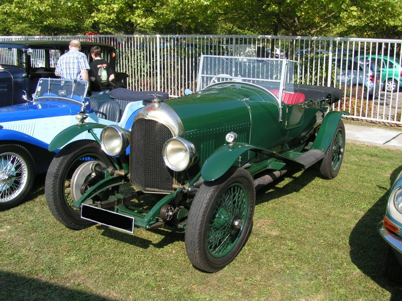 Bentley 3 Litre Super-Sports aufgenommen in Luxemburg am 23.09.07.