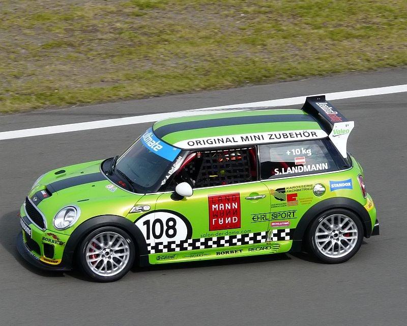 Mini Rennwagen