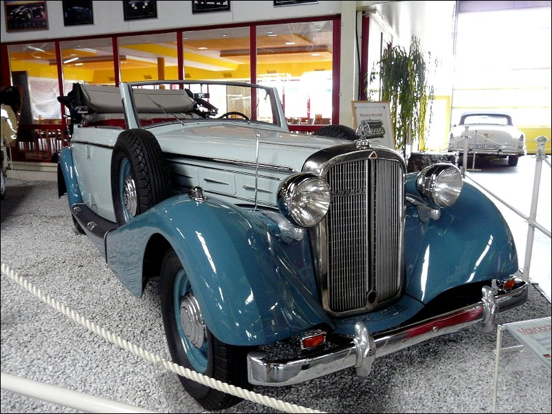 Maybach SW 38, BJ 1939, 4199 ccm, 140 PS, Auto & Technik Museum Sinsheim. 01.05.08