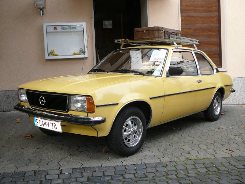 opel ascona b bj 78 1900 ccm 75 ps bei der 5 old und youngtimerausstellung in 36088. Black Bedroom Furniture Sets. Home Design Ideas