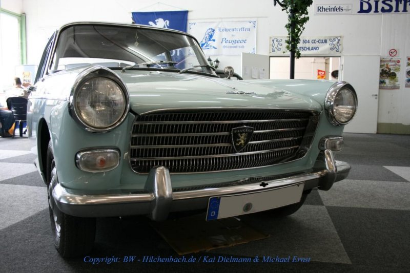 Peugeot 404, France-Mobil,Rheinberg Sep. 2007