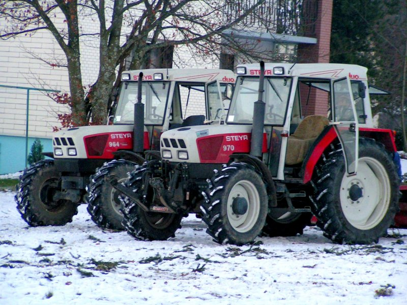 STEYR-Duo  964 + 970 ;071220