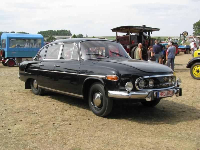 tatra 603 limousine aus der hansestadt rostock beim 16. Black Bedroom Furniture Sets. Home Design Ideas