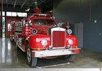 Mack B-Series Pumper 'Belle Chasse Volunteer Fire Department District No. 2 Plaquemines Parish', aufgenommen am 26. Mai 2016 in Belle Chasse, Louisiana / USA.