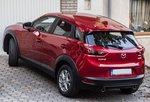 Mazda CX-3, meiner Meinung nach eine der schönsten Crossovers. Aufnahmedatum: 08.10.2016.