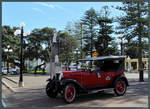 Ein Chevrolet National eines privaten Autovermieters in der Neuseeländischen Küstenstadt Napier. (19.10.2016)