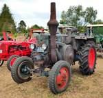 =Lanz, gesehen bei den Traktorfreunden Mackenzell im September 2018