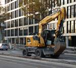 Liebherr Litronic 918 Compact am 12.11.15 in Heidelberg