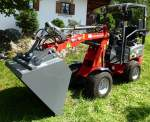 Weidemann 1140, Hoflader mit 24PS, Aug.2014