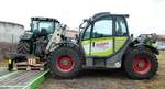 Claas Scorpion 7045 Plus steht im Februar 2017 in Alsfeld
