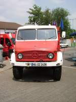 Ein alter Mercedes Benz Unimog in Maintal am 05.06.11