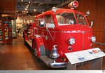 1948 American LaFrance Fire Engine 700 Series  Batavia Fire Department . Aufgenommen am 14. Mai 2016 im Aurora Regional Fire Museum in Aurora, Illinois / USA.